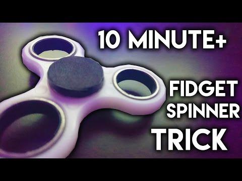 How To Make ANY FIDGET SPINNER Spin FOREVER (10 MINUTE+ FIDGET SPINNER)