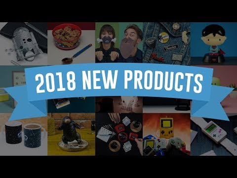 400+ New Products Coming 2018! | Paladone