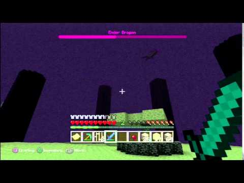 Ender Dragon The End Tutorial World PS3/PS4/PS Vita