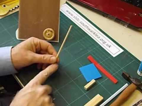 How to make a Cam Driven Moving Toy
