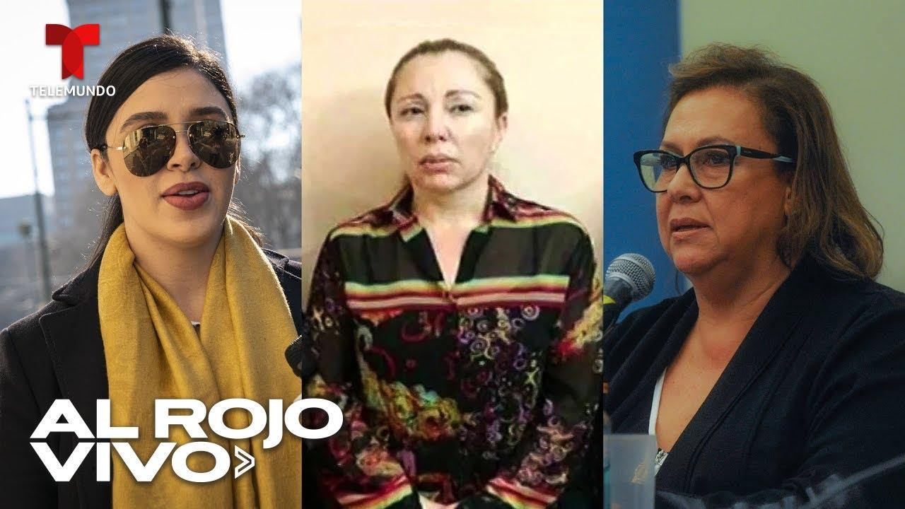 Emma Coronel se une a la lista de las esposas de narcos que terminaron en la cárcel