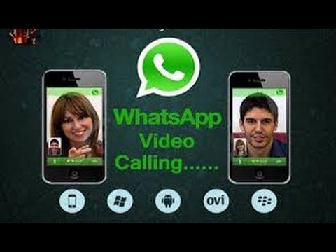 Whatsapp video call option
