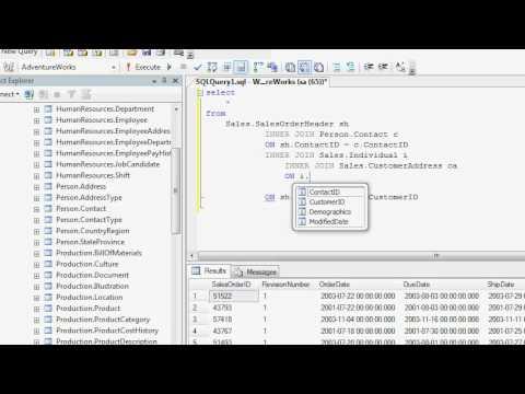 Writing Basic SQL to get Sales Data
