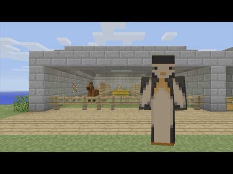 Minecraft Xbox: Horse Stable [62]