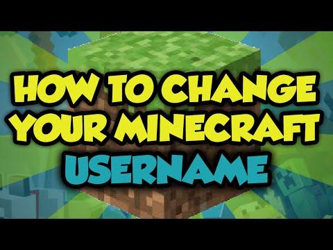 How To Change Your Minecraft Username 1.9.4 2016 - Minecraft Username Change 2015