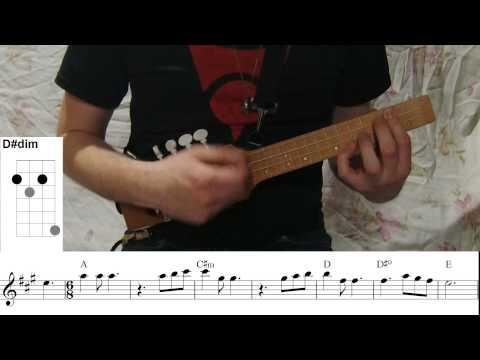 How To Play Kapp'n Song! (Ukulele Tutorial)