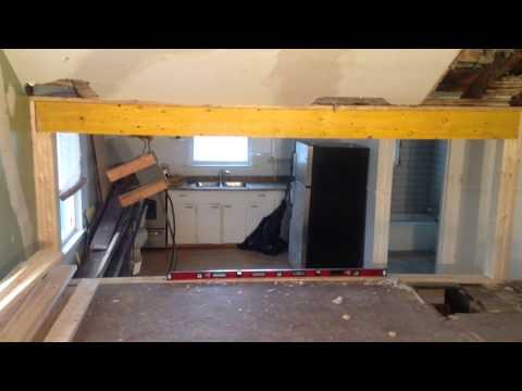 How To Install Load Bearing Beam- Laminated Veneer Lumber LVL (PART-5)