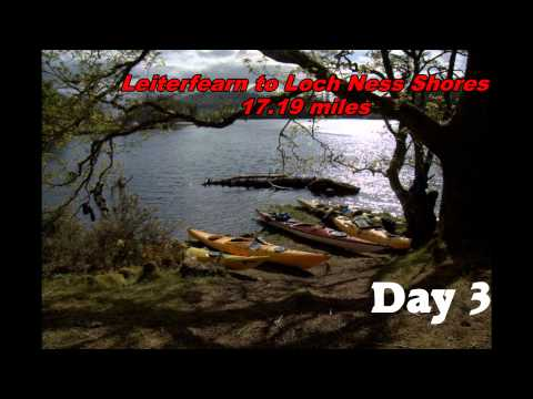 Great Glen Canoe Trail - Fort William to Inverness, kayaking. Worldwide soundtrack