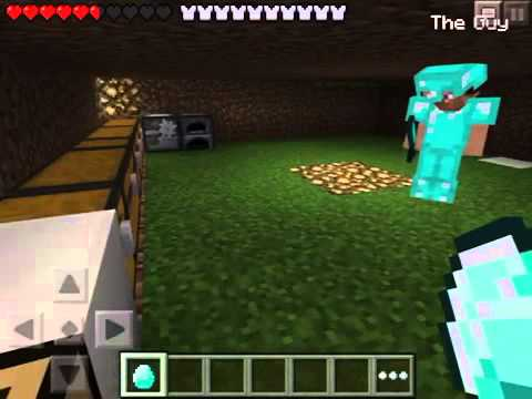 How to duplicate items in minecraft PE MULTIPLAYER 0.8.1