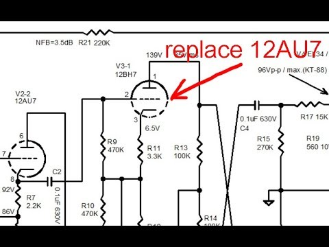 audio lecture 53, 12AU7 vs 12BH7, simple theory and real application test