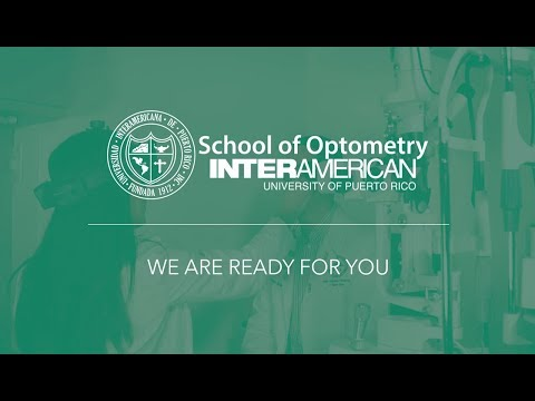 We Are Ready For You at the IAUPR School of Optometry!