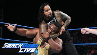 Big E vs. Jimmy Uso: SmackDown LIVE, June 20, 2017