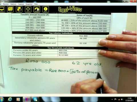 Maths Literacy Gr.12 - Taxation - part 1 -17.10.2013