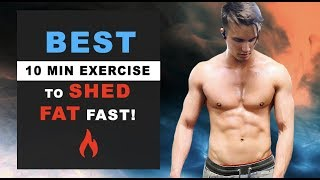 """10 Minute """"At-Home"""" Workout - For Beginners WHO WANT TO GET RIPPED QUICK!"""