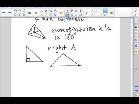 Praxis Geometry Review A