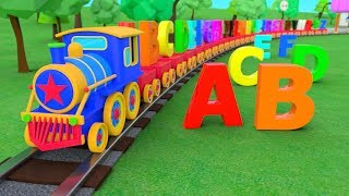 ABC Alphabet   ABC Song   Train Adventure   3D Nursery Rhymes   Baby Songs   ABC Songs For Children