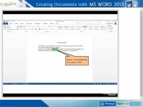 How to create elearning courses explaining the working of Softwares (Microsoft word)?