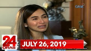 24 Oras Express: July 26, 2019 [HD]