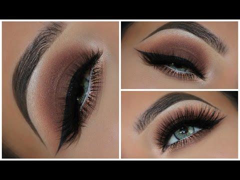 A Simple Brown Smokey Eyeshadow Look   Amys Makeup Box