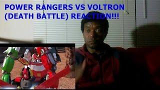POWER RANGERS VS VOLTRON (DEATH BATTLE) - REACTION!!!!!