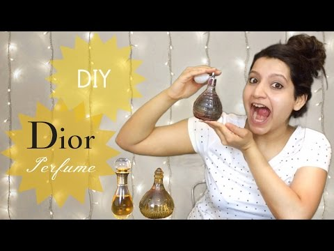 DIY Perfume   How To Make Your Own Perfume   Dior Recipe