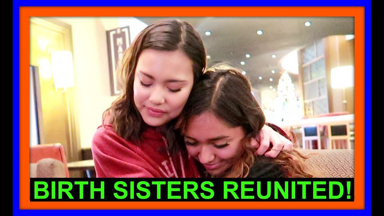 BIRTH SISTERS REUNITED! | FOSTER CARE STORY