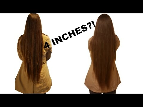 How To grow your hair 4 INCHES in one month! + *Closed* Giveaway | Evin Yalcin