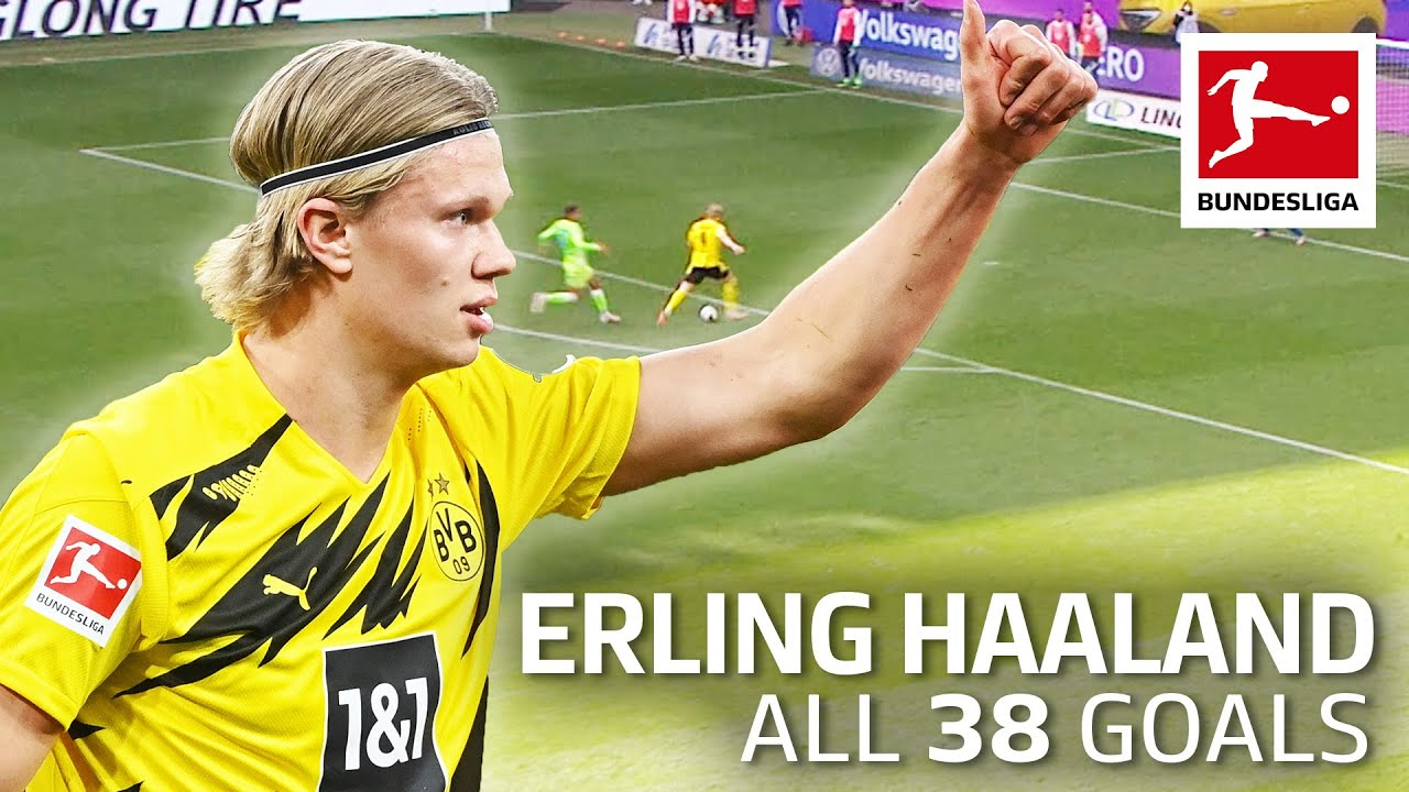 Erling Haaland - 38 Goals in Only 41 Matches