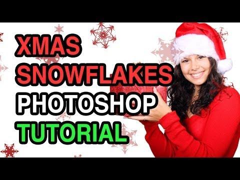 Christmas Snowflakes Photoshop Tutorial