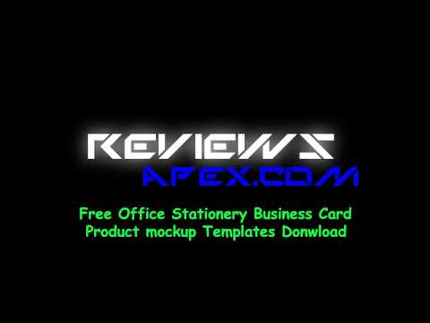 White Corporate Identity Template with Color Stripes Download Free