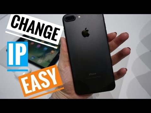 how to Change Your IP Address and DNS server on the iPhone iPod touch iPad Get new public IP Address