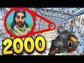 *NEW* S'ÉCHAPPER DE 2000 PIÈGES SUR FORTNITE BATTLE ROYALE !! (HARD PARKOUR)