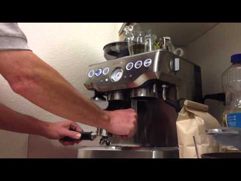 Lets Make Coffee... Making a Caffè Americano Breville Barista Express BES870XL