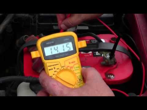 How to: Easy test to check your alternator?