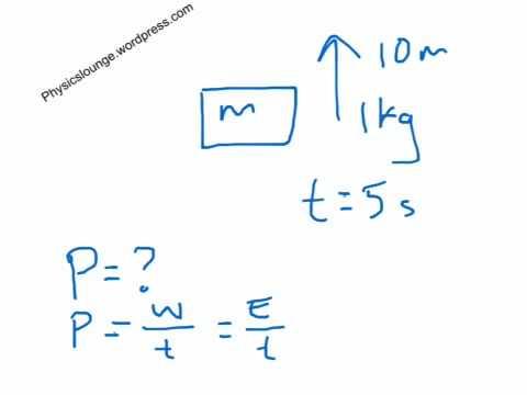 Mechanical power calculation