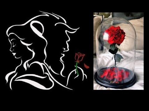 BEAUTY & THE BEAST - Enchanted Rose (D.I.Y.)