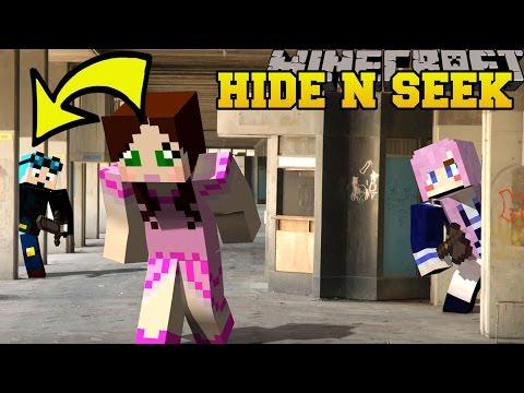 Minecraft: YOUTUBERS HIDE AND SEEK - Morph Hide And Seek - Modded Mini-Game