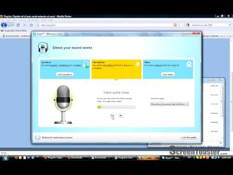Downloading and Installing Skype Part 2