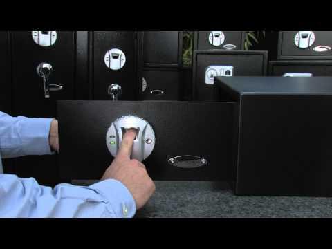 Barska Quick Scanning Biometric Fingerprint Safe AX11224