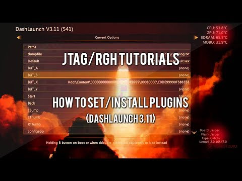 JTAG/RGH Tutorials - How to Set/Install Plugins (RTE Tools/XBLStealth)