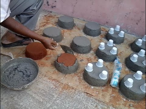 How to make Mold and tree pot.