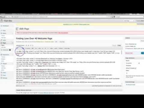 How to Find the HTML code in Wordpress