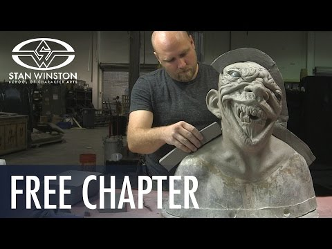 How to Make a Latex Mask: Mold Making