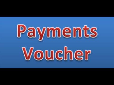 payment Voucher in MS.Excel.Business Transaction Payment voucher