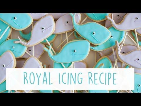 My Royal Icing Recipe!