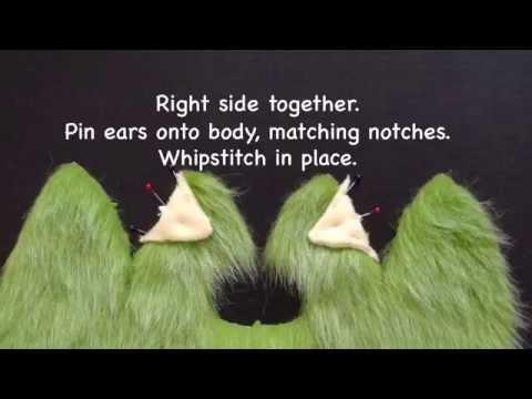 Beastie - Fuzzles stuffed toy tutorial