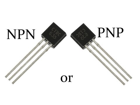 How to Identify an PNP or NPN Transistor