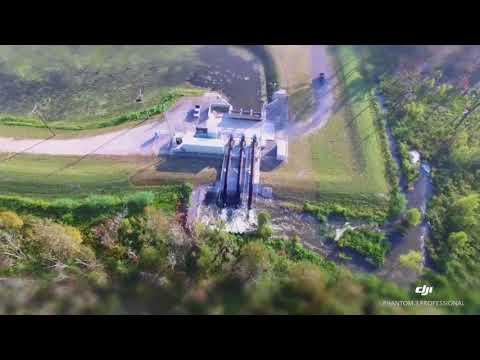 Willowridge Pump Station Drone Footage Fall 2017
