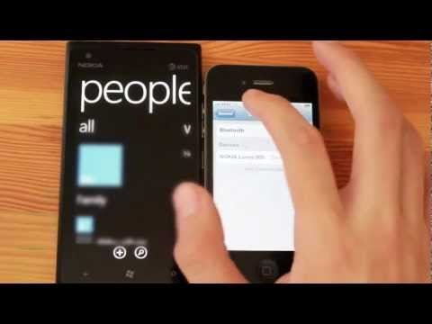 How to transfer your iPhone 4 contacts to the Nokia Lumia 900