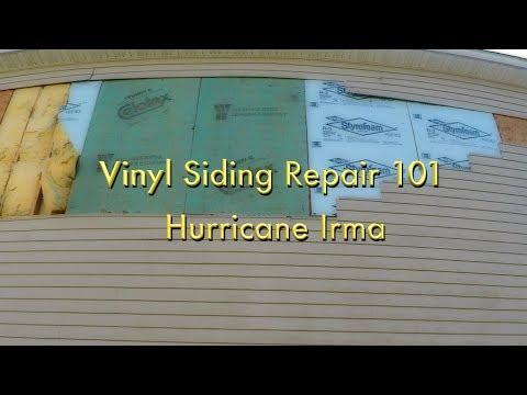 Vinyl Siding Wind Damage Repair